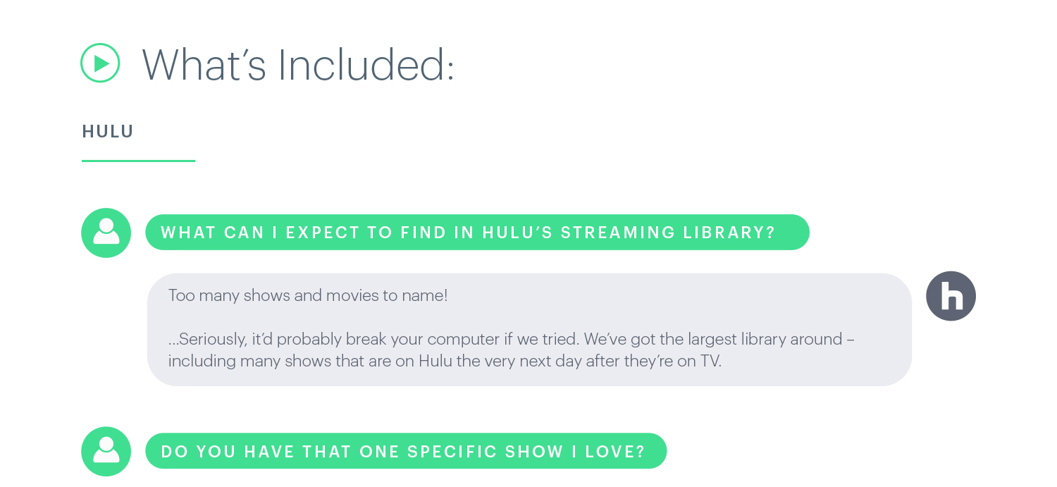 Hulu: What's Included – What can I expect to find on Hulu's streaming library?