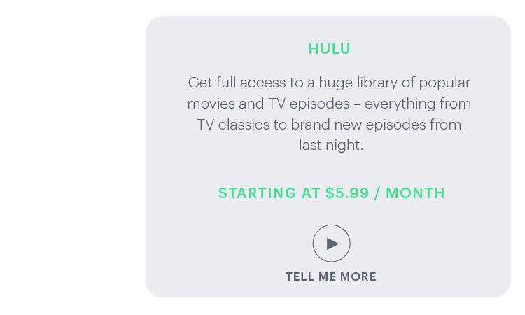 Getting Started with Hulu