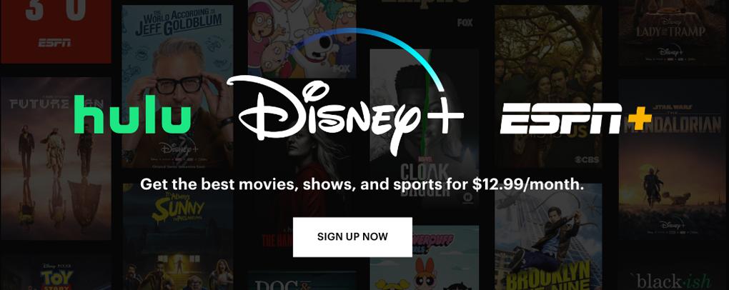 Sign up for the Disney Bundle