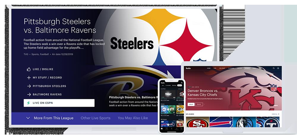 Watch Live Sports On Hulu