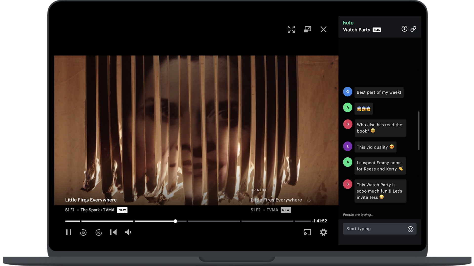Hulu Video Player with Ad